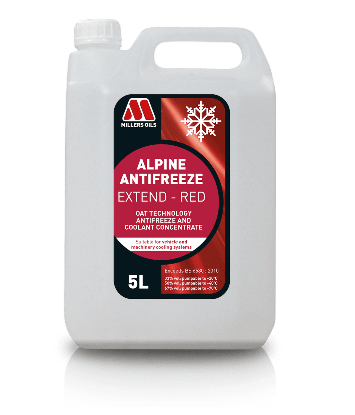 5L Antifreeze EXTEND RED
