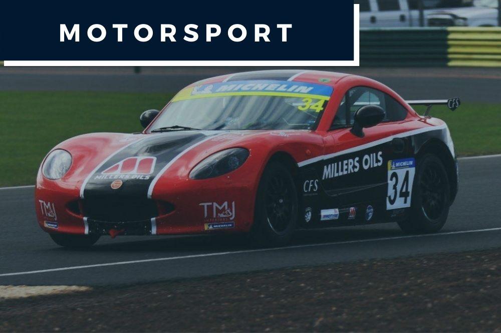 Motorsport menü kép
