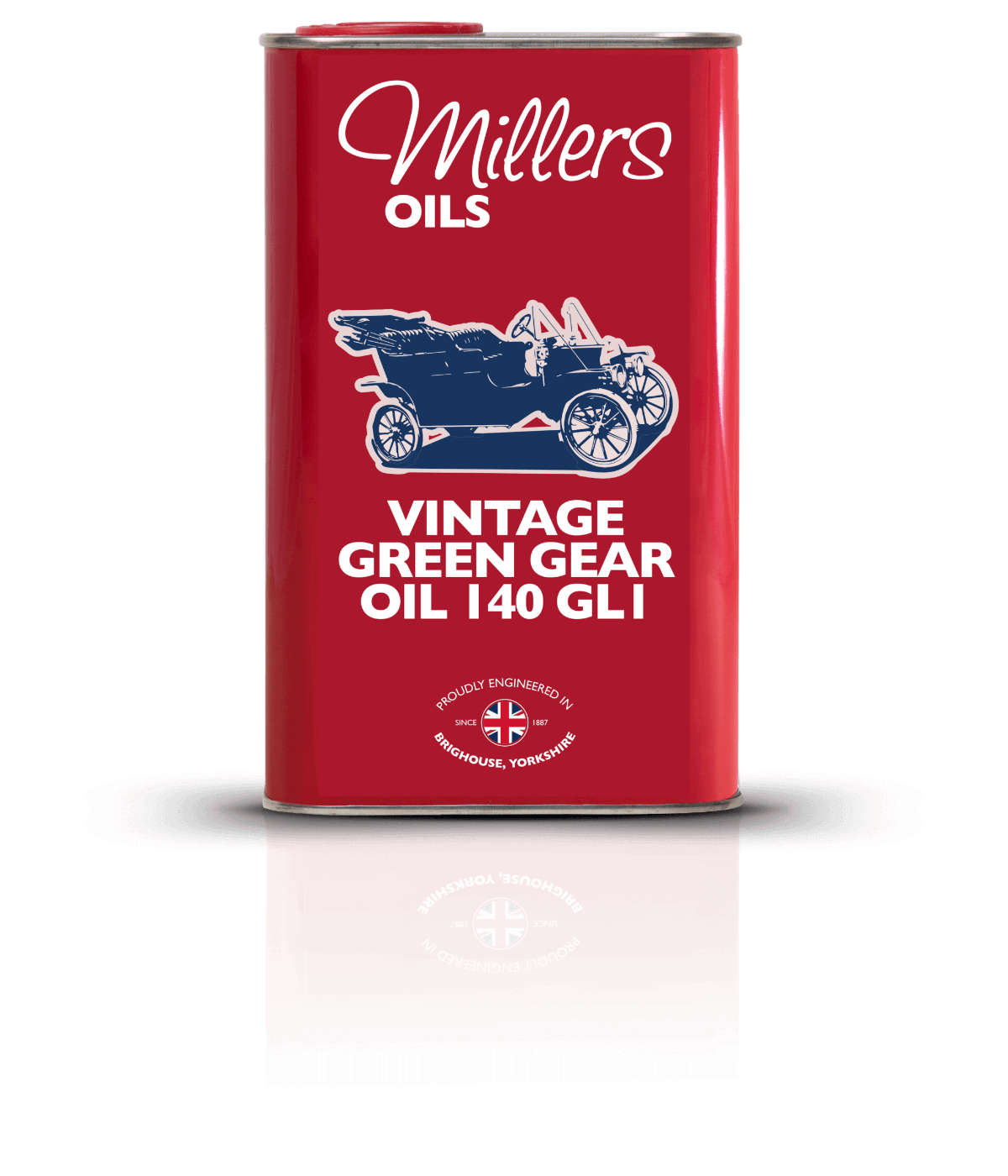 P16137 Vintage Green Gear 140 1L