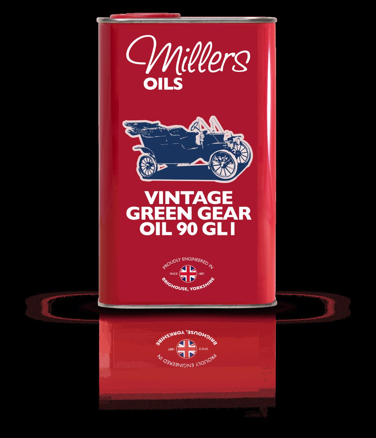 P16139 Vintage Green Gear 90 1L