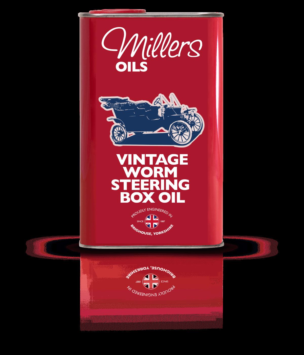 P16150 Vintage Worm Steering Box Oil