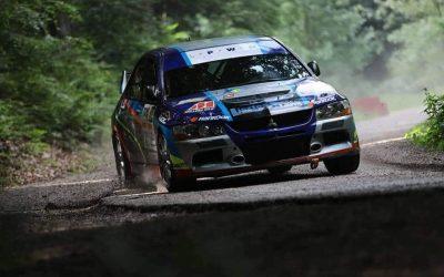 Bacsa Tamás és Hanyik Gergely újabb kategóriagyőzelme a Fehérvár Rally-n.