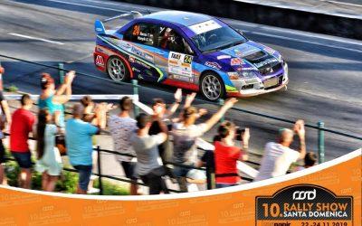 Bacsa Tamásék a Santa Domenica Rally Show-n!
