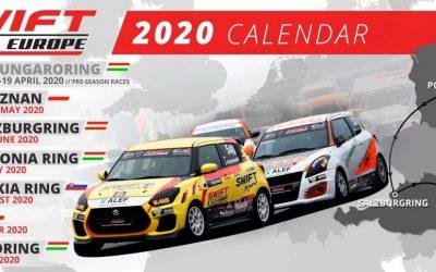 A Swift Cup Europe sorozat kenőanyag beszállítója 2020-ban is a Millers Oils!