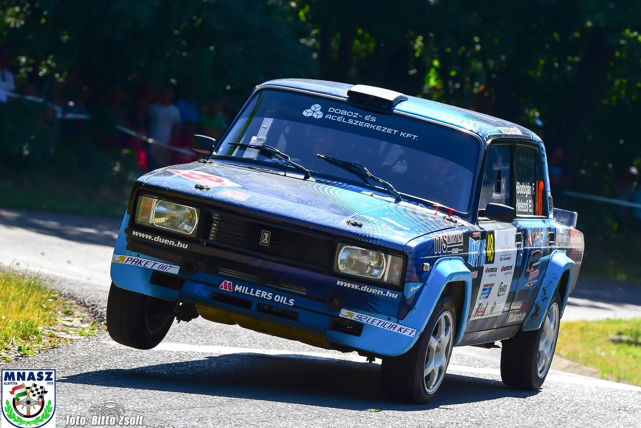 Bodogán Ferenc és Velezdi Eszter remekeltek az 54. Mecsek Rallye-n! :)